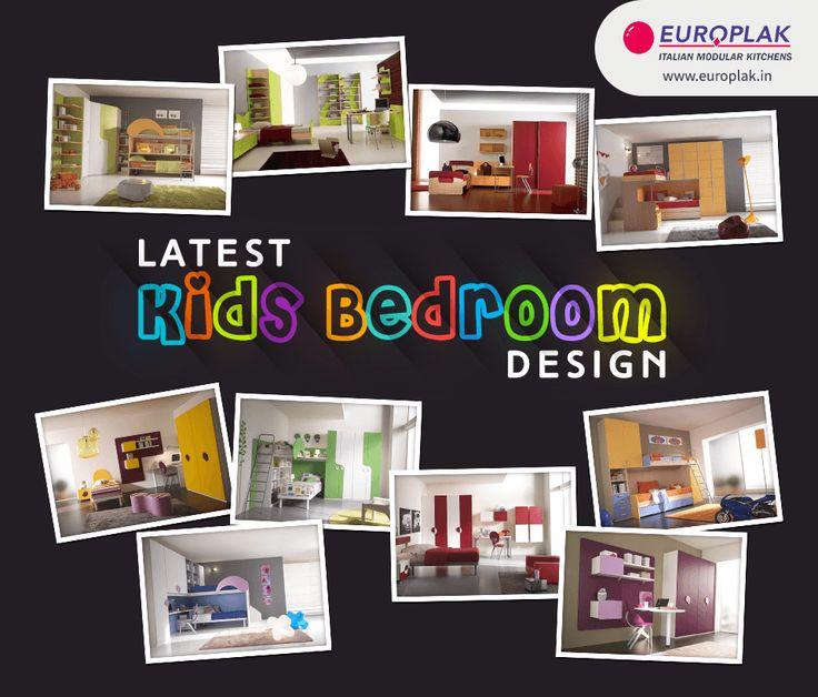 Latest #Kids #Bedroom #Design Only @ #Europlak #India For more details Visit : http://www.europlak.in/