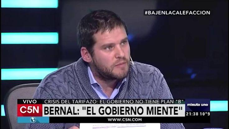 Federico Bernal en Minuto Uno