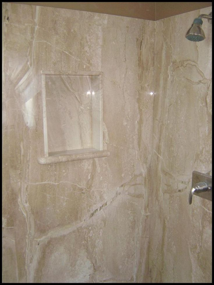 cultured tile shower | Investment - We recommend cultured marble for your bath and shower ...