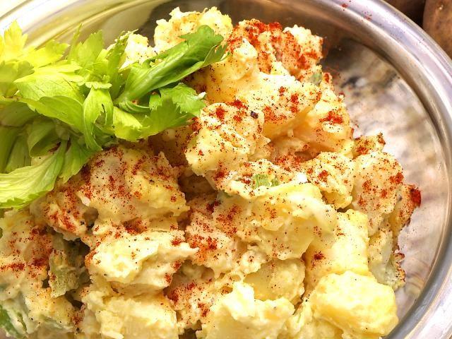 A Tasty Mustard Potato Salad That Won't Turn a Mushy Mess: Mustard Potato Salad Recipe.