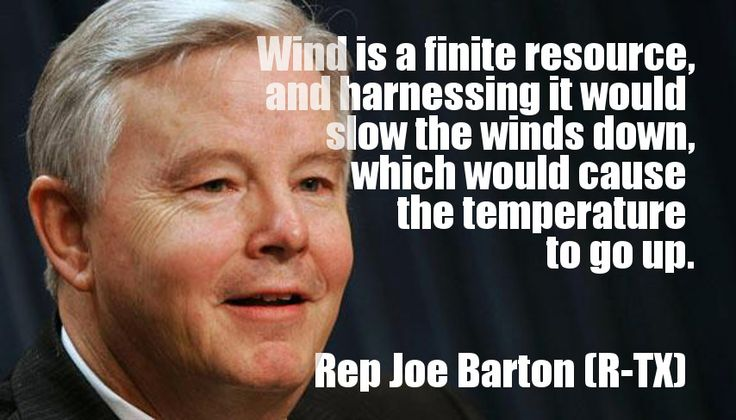 Joe Barton (R-TX) Thinks Sailboats Cause Global Warming