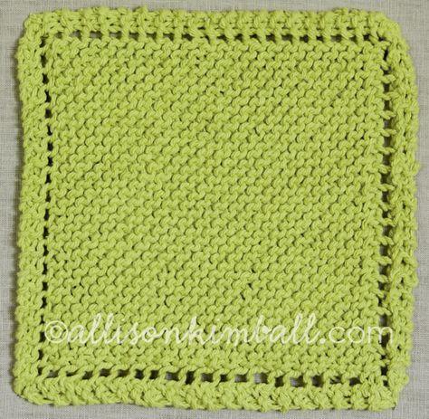 203 Best Knitting Dishcloths And Washrags Images On Pinterest