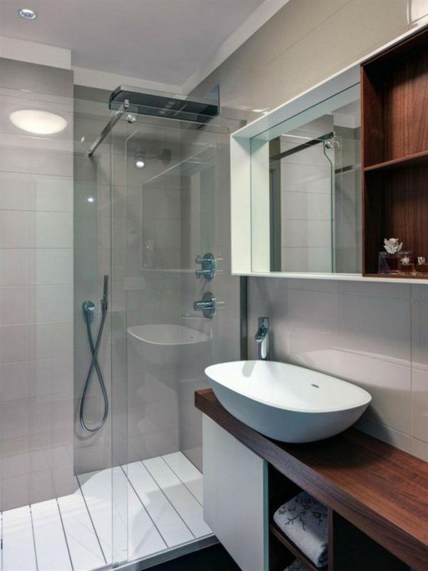 kleines bad funktionell gestalten schoene interieur