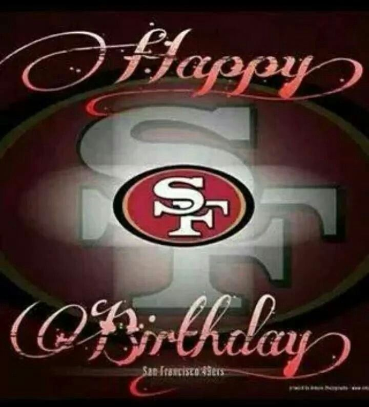 San Diego Chargers Happy Birthday Pictures: 20 Best Birthday Niner Style. Images On Pinterest