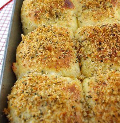 Recipe For Parmesan Dinner Rolls