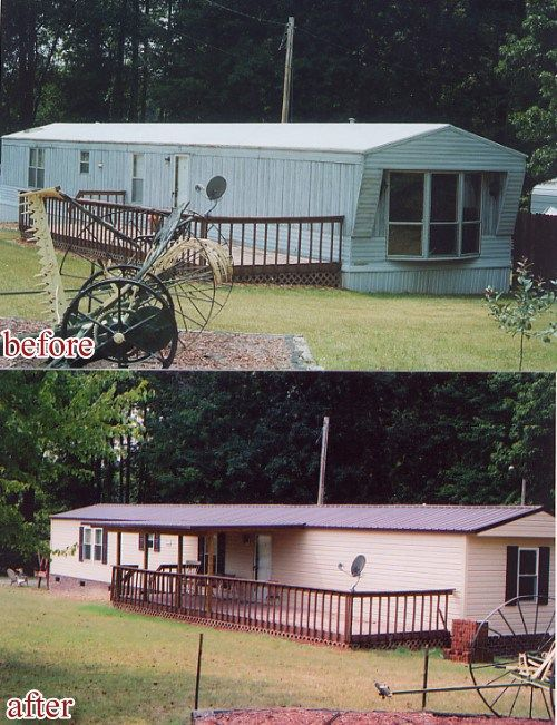 mobile home siding options before and after