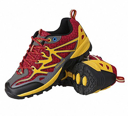 Ben Sports Mens Womens Red Unisex Trail Running Hiking Outdoor Shoes -- You can get more details by clicking on the image.