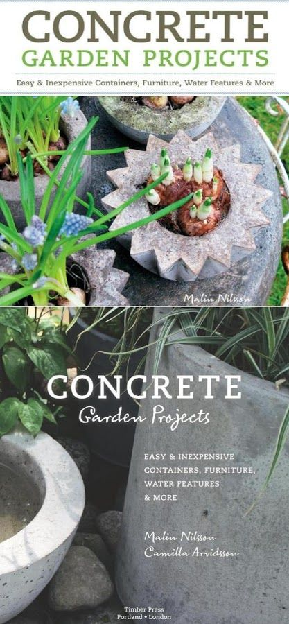 Book : Concrete Garden Projects