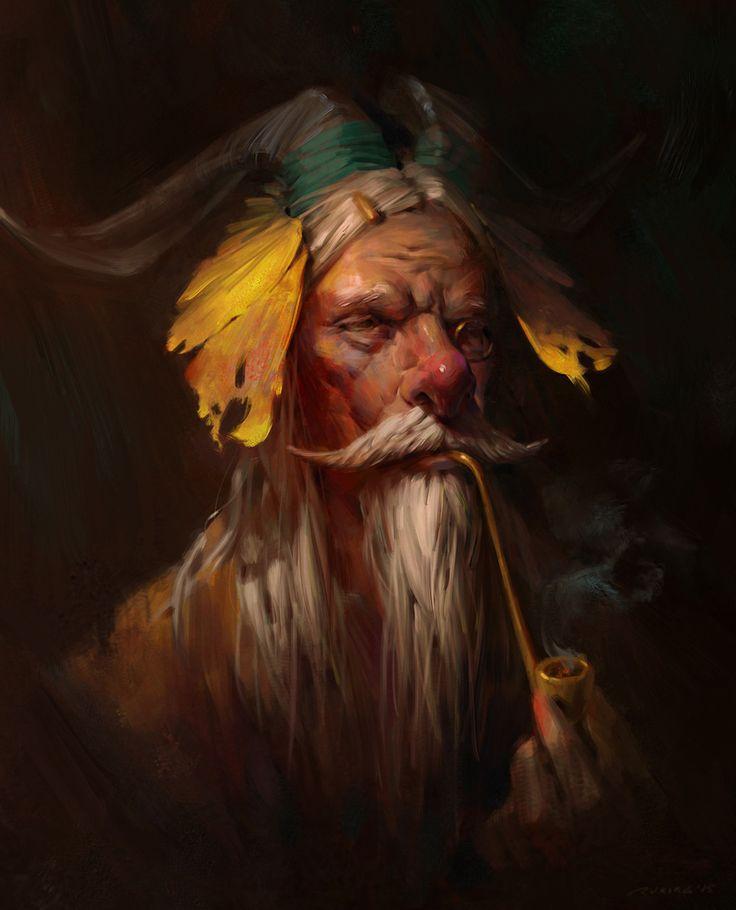 Old man - Ruxing Gao