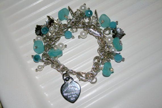 Tiffany Charm bracelet charm bracelet cha by DakotaDesignsbyVicki, $50.00