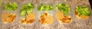 Weekly lunch prep ideas #skinnymom