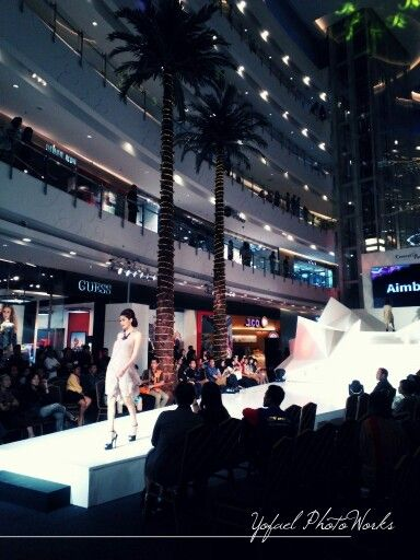 Catwalk and fashion show today