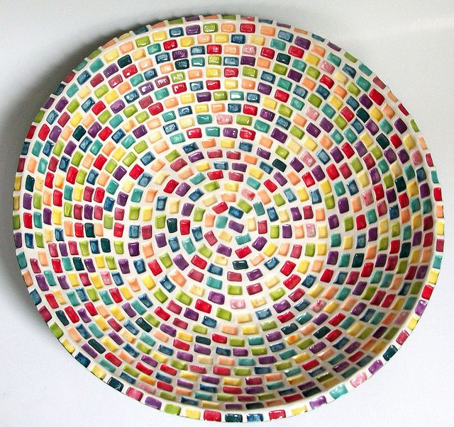 cool mosaic bowl
