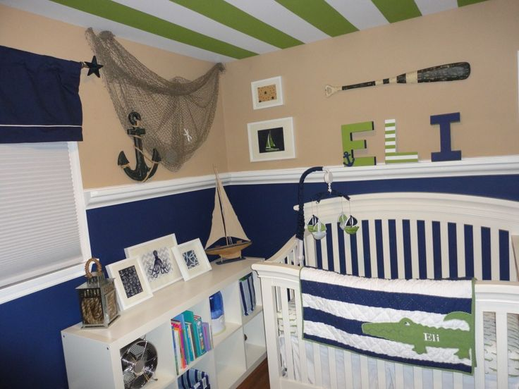 55+ Sailor Baby Room Ideas - Best Paint to Paint Furniture Check more at http://www.itscultured.com/sailor-baby-room-ideas/
