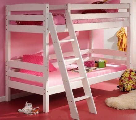 Sweet and warm bedroom, if you have 2 girls, just  decorate their bedroom like this.