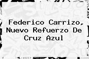 http://tecnoautos.com/wp-content/uploads/imagenes/tendencias/thumbs/federico-carrizo-nuevo-refuerzo-de-cruz-azul.jpg Federico Carrizo. Federico Carrizo, nuevo refuerzo de Cruz Azul, Enlaces, Imágenes, Videos y Tweets - http://tecnoautos.com/actualidad/federico-carrizo-federico-carrizo-nuevo-refuerzo-de-cruz-azul/