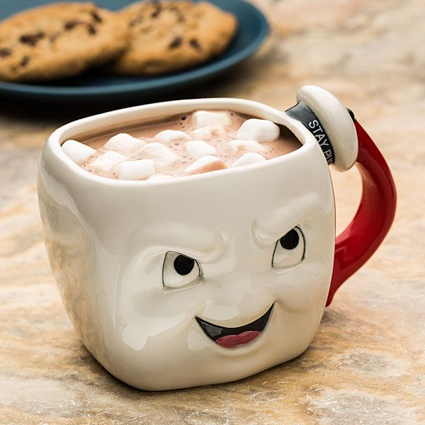 Two-Faced Stay Puft Marshmallow Man Mug | Geek Decor