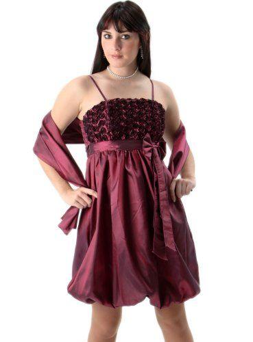 Robe prune femme