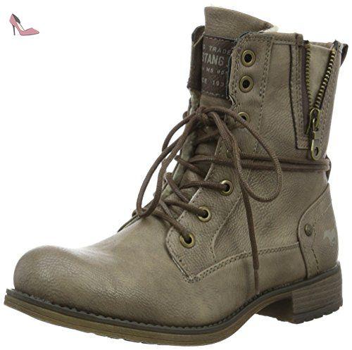 Mustang 4051603, Boots homme - Marron (32 Braun), 45 EU
