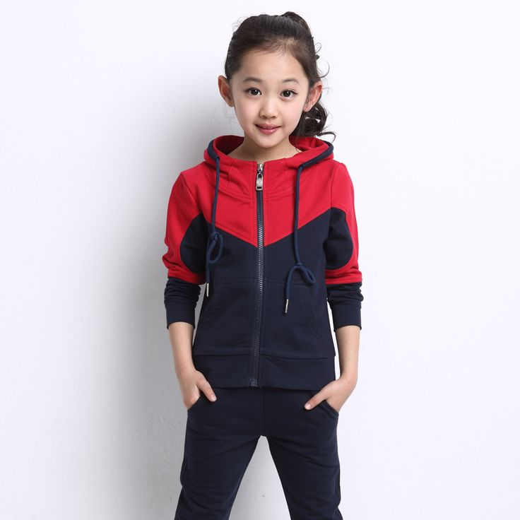 $43.00 (Buy here: https://alitems.com/g/1e8d114494ebda23ff8b16525dc3e8/?i=5&ulp=https%3A%2F%2Fwww.aliexpress.com%2Fitem%2F2015-new-winter-children-s-clothing-children-s-sports-suit-fashion-suit-big-virgin-girls-cotton%2F32439083091.html ) 2016 New Winter Children's Clothing,Children's Sports Suit, Fashion Suit Big Virgin Girls Cotton Long-Sleeved Suit Kids Sets   for just $43.00