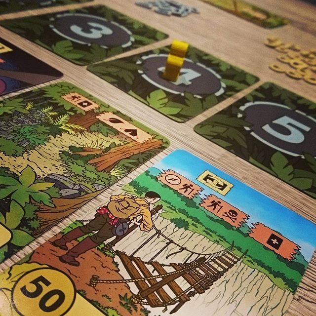 Verdammt ist #TheLostExpedition schwer aber auch wunderschön und spaßig. Tolles Spiel von #peersylvester und @ospreygames #brettspiel #brettspiele #boardgame #boardgames #fb