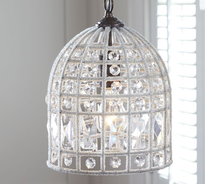 Pottery Barn Beaded Lamp Shade: 17 Best Images About LIGHTING IDEAS On Pinterest