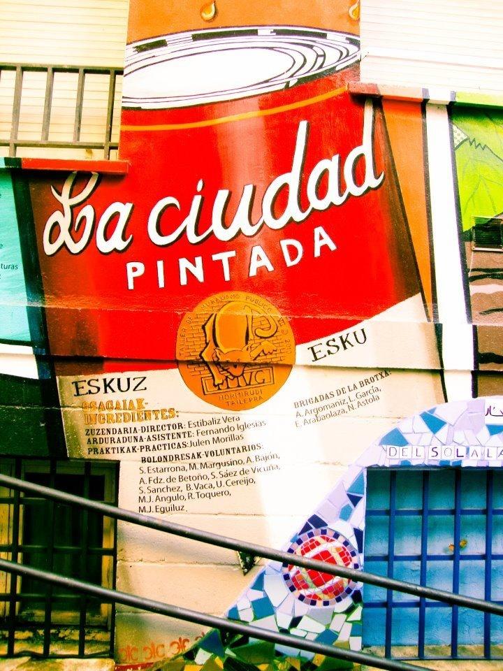 La ciudad pintada - Vitoria - Gasteiz.   pho. Dorota Bilinska