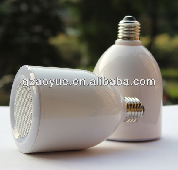 blue tooth speaker led lamp mobile phone speaker with remote from Guangzhou factory $16~$22