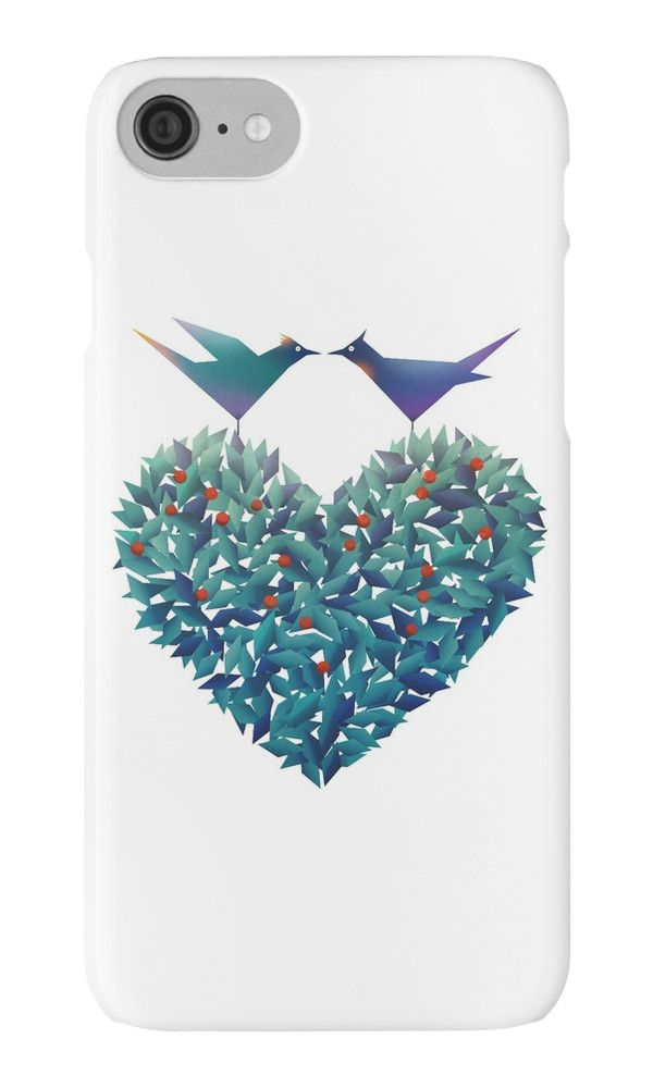 """""""Love Birds"""" iPhone Cases & Skins by angelo cerantola 