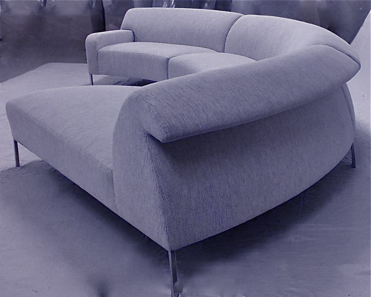 AQUILA Sectional Sofa Collection Prototype By Lazar Ind, Designed By  Stanley Jay Friedman.