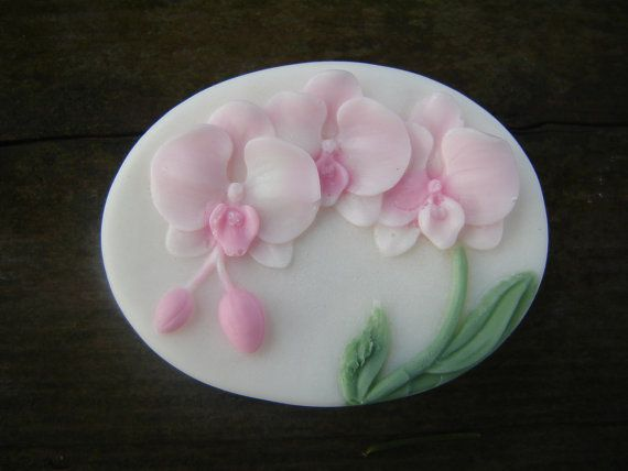 orchid soap by bloom decorative soaps