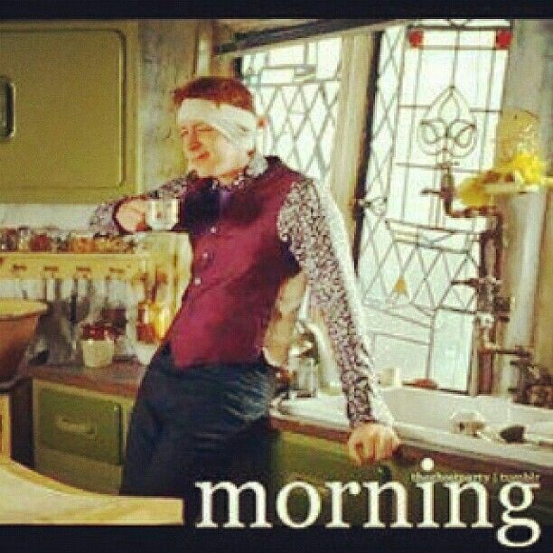 Morning from George Weasley | Good Morning Hello & Coffee in 2019