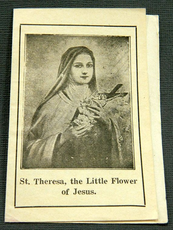 St theresa of the little flower