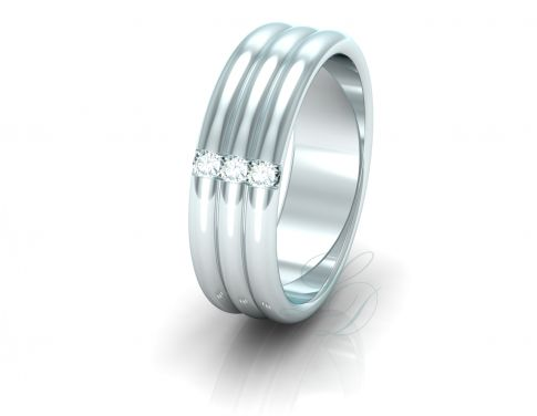 SAHNNON - Wedding Ring FOR HER - LucyDiamonds.cz Very special ring for a very special woman...