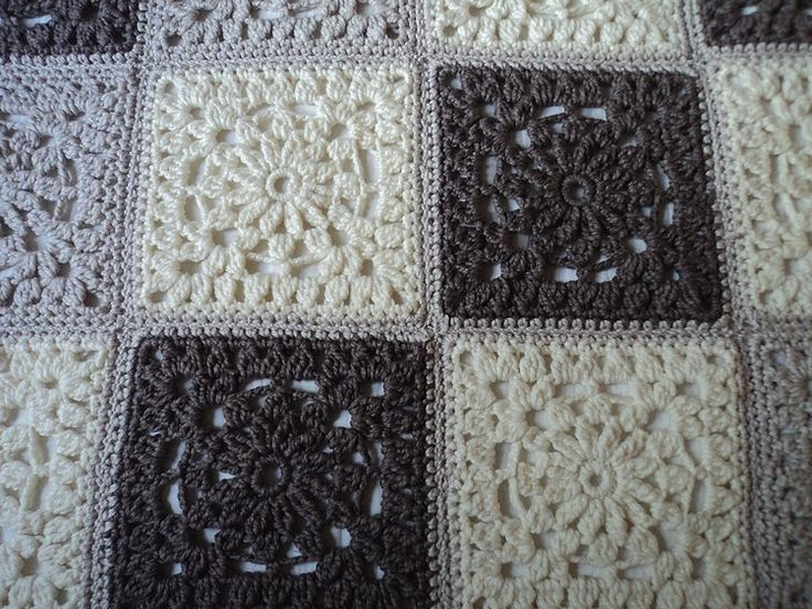plaid au crochet xxl