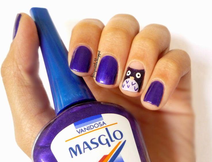 #RetoABC #Buho #Owl #Masglo #Purple #Violeta #Tutorial