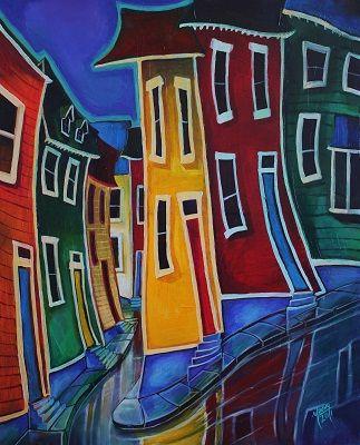 st. john's newfoundland paintings - Google Search