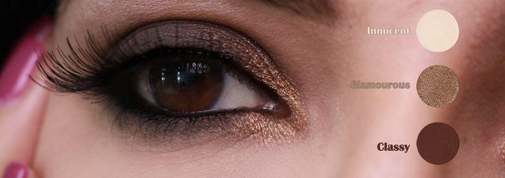 Neutral colors makeup