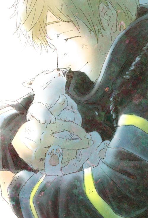 Free! - Iwatobi Swim Club,  free!, iwatobi, makoto tachibana, makoto, tachibana,  fireman, firefighter