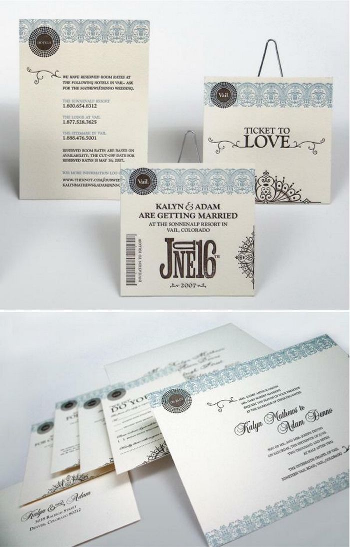 28 best best wedding invitation ideas images on pinterest creative wedding invitation favors bag stopboris Images