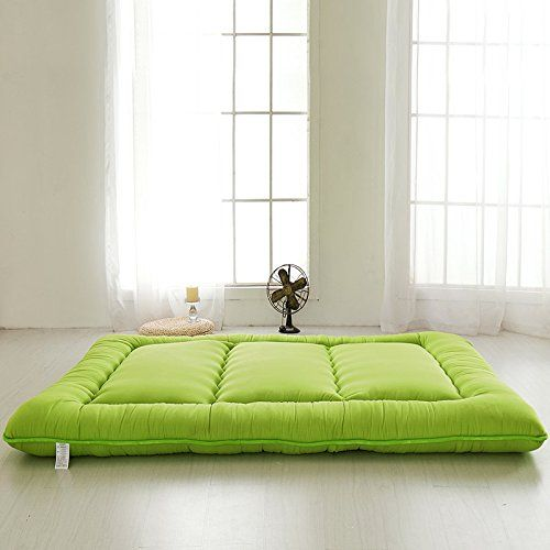 Green Futon Tatami Mat Japanese Futon Mattress Cheap Futons For Sale Christmas Gift Idea Gift For Women Men Gift For Mom Dad, Queen Size