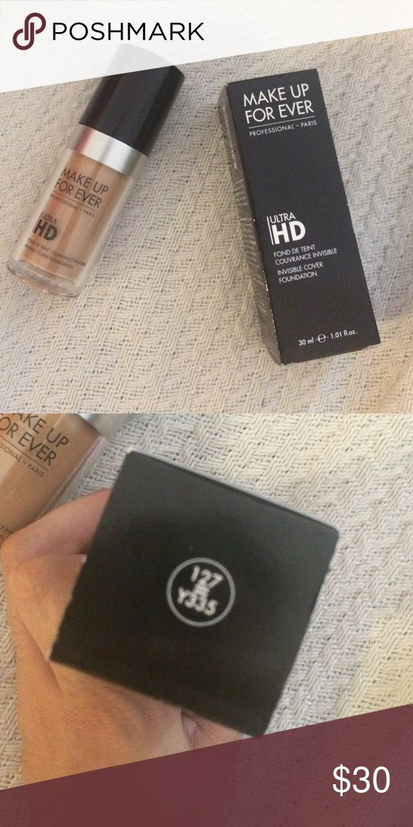 New in box Makeup Forever Ultra HD 127 Y335 Brand new