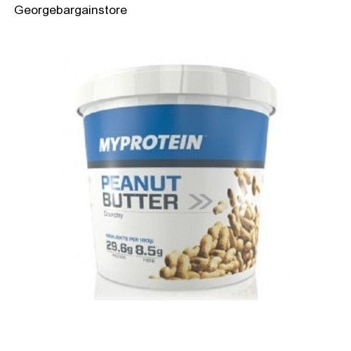 Crunchy Peanut Butter Protein Creamy Natural Healthy Snack Diet Delicious