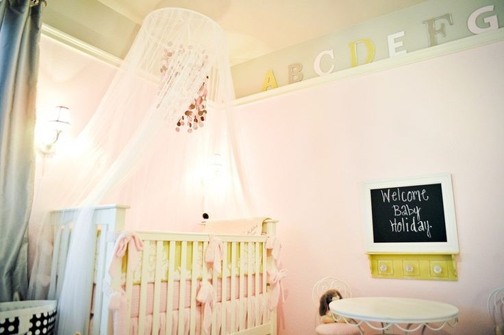 {Project Nursery Round-up: lovely crib canopies} #nurseryNurseries Inspiration, Shabby Chic, Baby Girls Room, Master Bedrooms, Projects Nurseries, Cribs Canopies, Baby Room, Nurseries Ideas, Baby Nurseries
