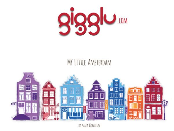 My Little Amsterdam by Kasia Korabiusz, via Behance