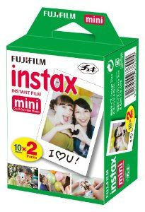 Fujifilm Instant Color Film is an ISO 800 wide picture format integral daylight color film designed for use with Fujifilm instax mini series cameras. This glossy film yields superb results under both daylight and electronic flash conditions $13.40