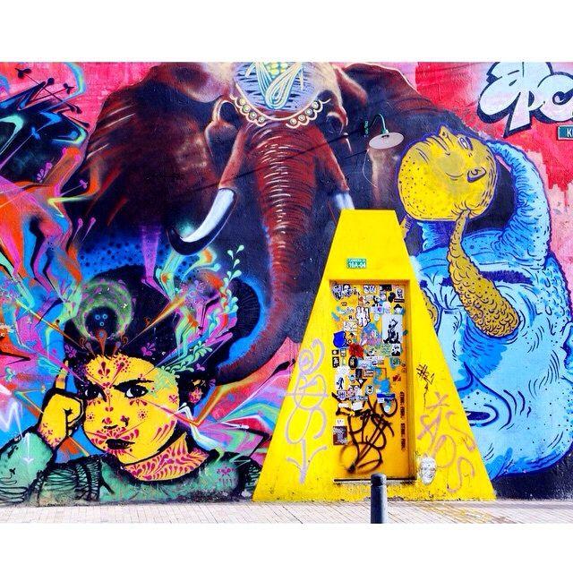 #wall #city #bogota #art #streetphotography #urban #wallporn #instart #streetart  #colors #grafitti #graffitti #graffittiart #graffittiwall #elephant #bogotart