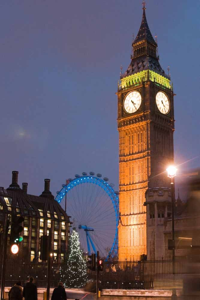 The Clock Tower of the Palace of Westminster, known as the ...