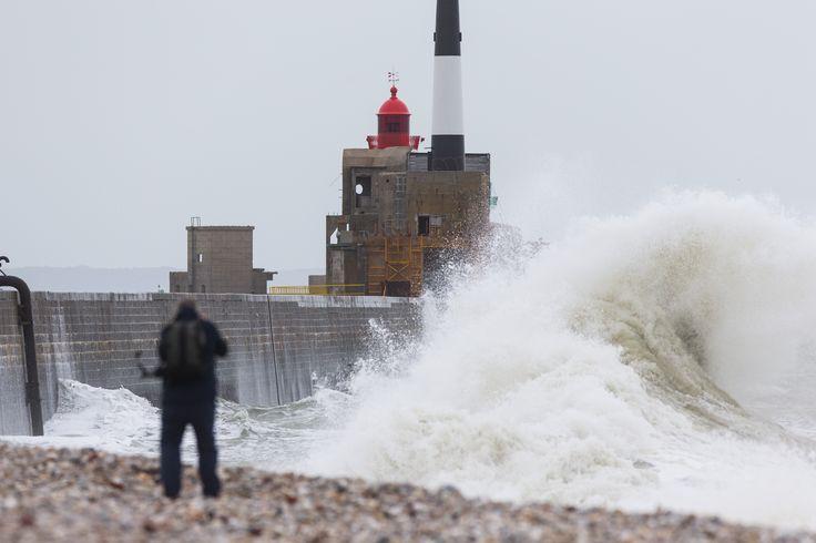 La tempête Christian par JM Liot #TJV2013 #Lehavre   www.scanvoile.com