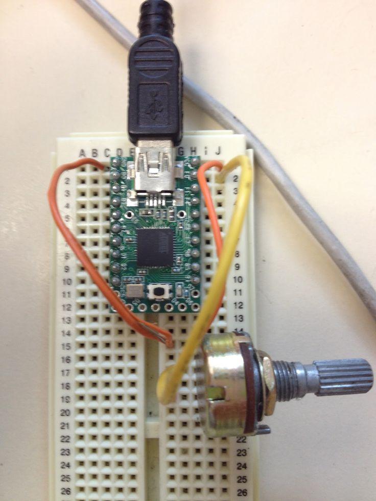 littlescale A Very Simple DIY USB MIDI Controller DIY